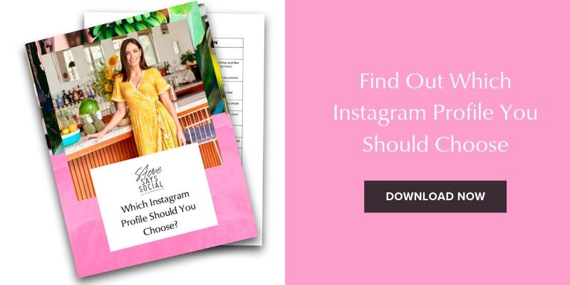 Which Instagram Profile Should I Choose? Instagram Business